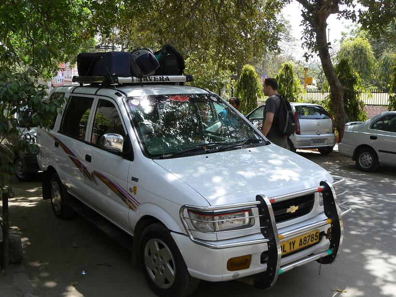 La voiture pour Rishikesh