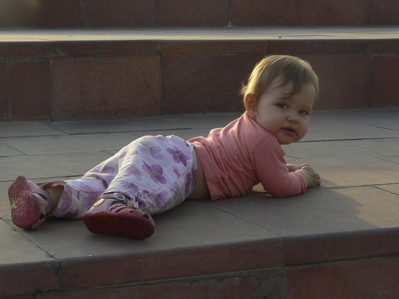 Nitika rampe sur les grandins à Central Park (1)