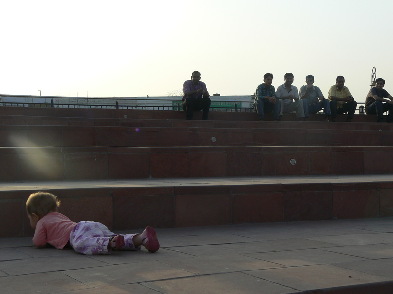 Nitika rampe sur les grandins à Central Park (3)