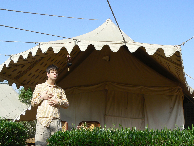 La tente à Ranthambhore