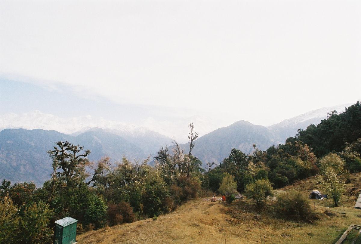Le camp, la forêt et la montagne