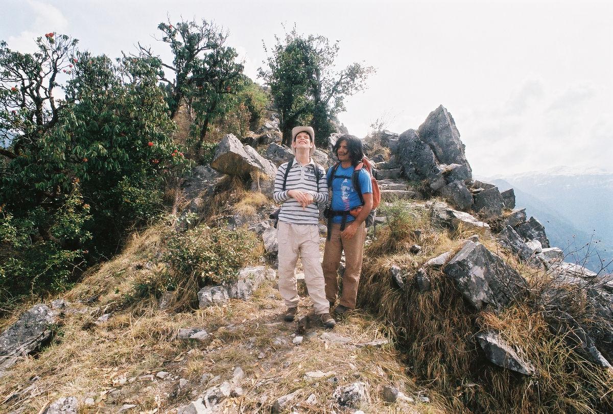 Gab et Vipin sur la crête