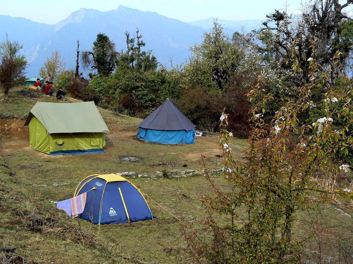 Le premier camp