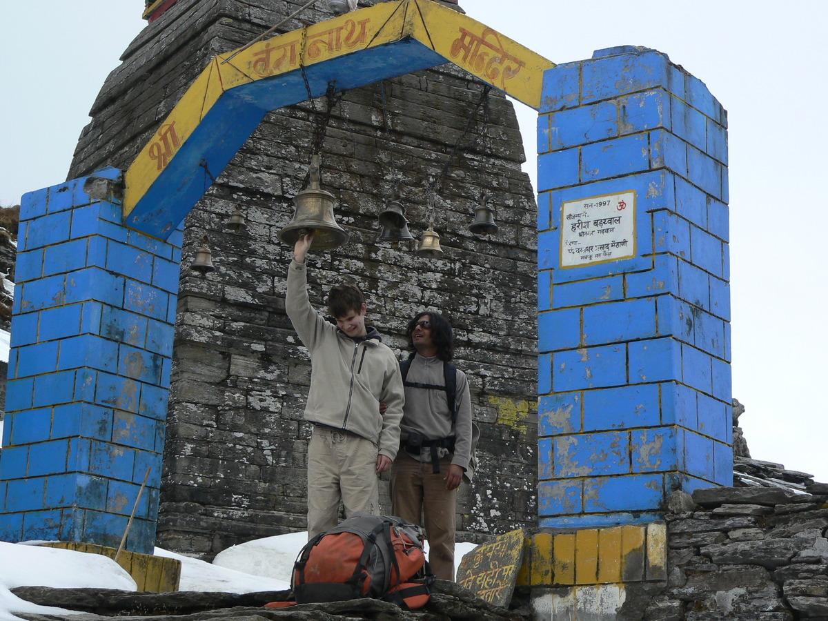 Arrivée au temple (3600m)