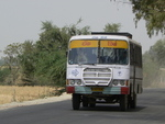 Bus dans le Rajasthan