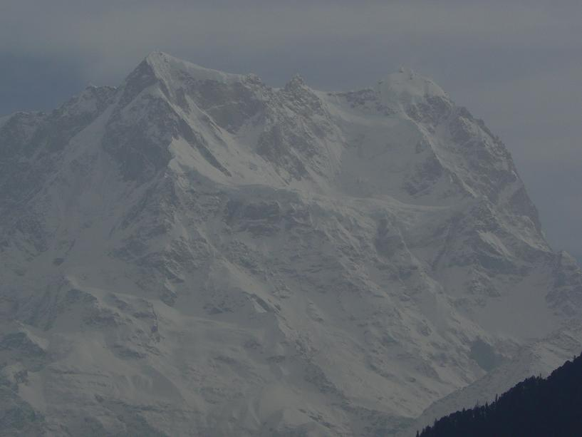 Chokomba, 7000 mètres