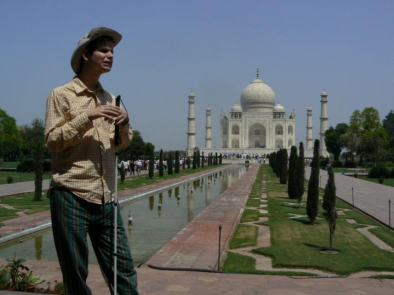Gab au Taj Mahal