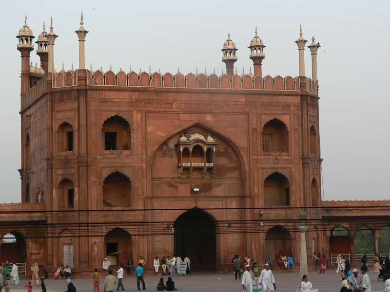 Jama Masjid (porte principale)