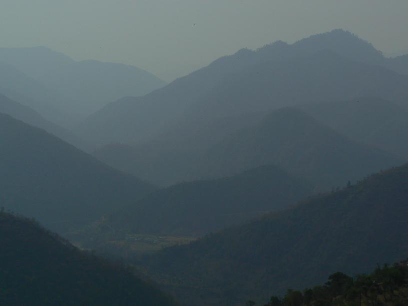 Des montagnes…
