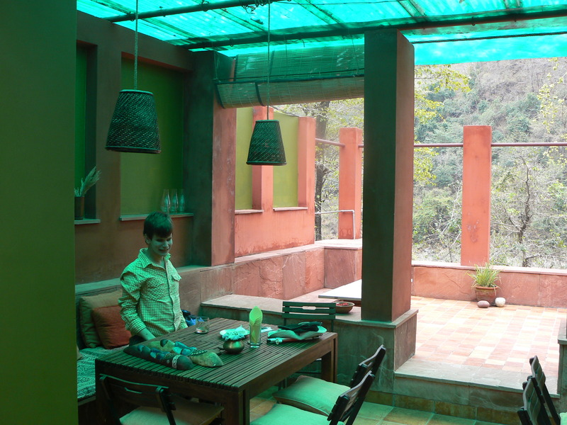 Rainforest house (la salle à manger)