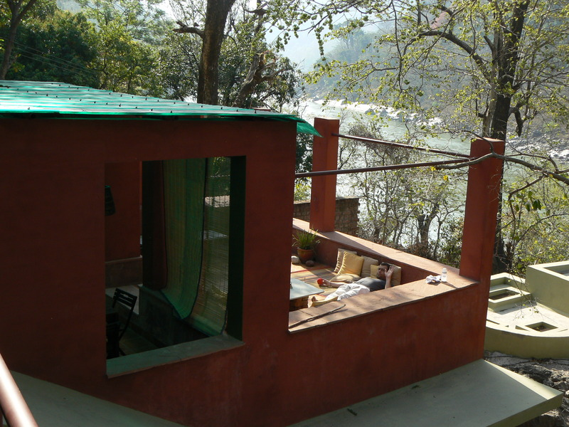 Rainforest house (la terrasse)